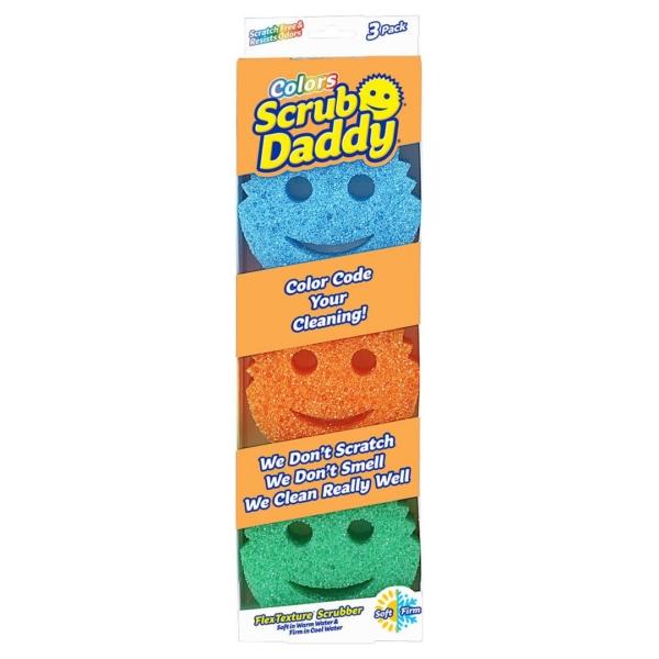 scrub daddy colours